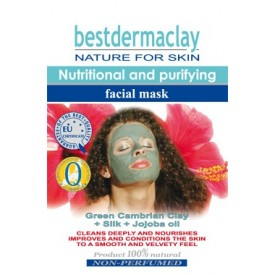 The cleaning-nutritious facial mask